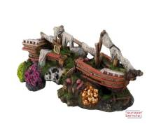 Decor Sunken Ship 2 -M- 25x10,5x11,5cm