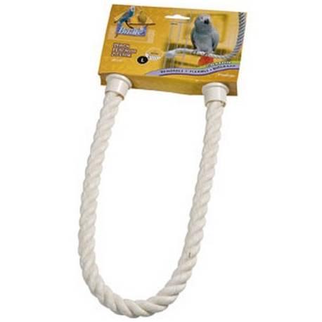 Vogel Zitstokken - Buigzame touw-zitstok naturel Large