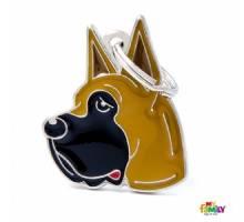 Hondenpenning Great Dane - Bruin