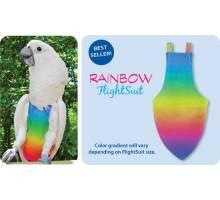 FlightSuit / Papegaaienluier X-Small Plus Rainbow
