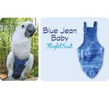 FlightSuit / Papegaaienluier X-Small Plus Blue Jean Baby