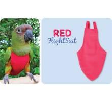 FlightSuit / Papegaaienluier X-Small Plus Red