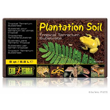 Exo Terra Plantation Soil Coco Briques 650g