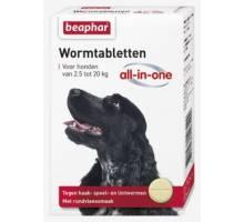 Beaphar Wormmiddel All-In-One Hond (2,5-20kg)