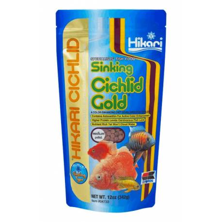 CICHLID GOLD MEDIUM 342GR. SINKING