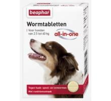Beaphar Wormmiddel All-In-One Hond (2,5-40kg)