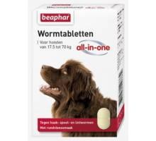 Beaphar Wormmiddel All-In-One Hond (17,5-70kg)