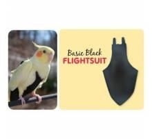 FlightSuit / Papegaaienluier X-Wide Long Black