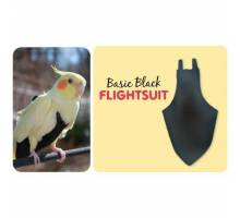FlightSuit / Papegaaienluier Colossal Black