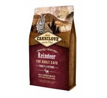 Brit Carnilove Rendier voor energierijke en buiten katten 400g