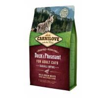 Brit Carnilove Eend en Fazant Anti-Haarbal 6kg