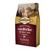 Brit Carnilove Lam en Wildzwijn voor gesteriliseerde katten 6kg