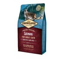 Brit Carnilove Zalm voor Gevoelige en langharige katten 6kg