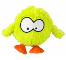COOCKOO DOG TOY BOUNCY JUMPING BALL SOUNDCHIP INCL. 28x19cm, LIME