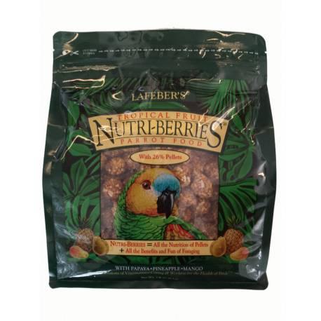 Lafeber Nutri-Berries Tropical Fruit - Papegaai  1,36 kg