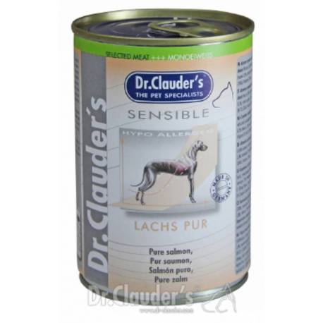 Dr.Clauder's Sensible puur zalm 375 gram