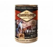Carnilove natvoer Lamb & Wildboar 400 gram