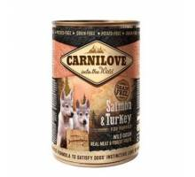 Carnilove Natvoer Salmon & Trukey for puppies 400 gram
