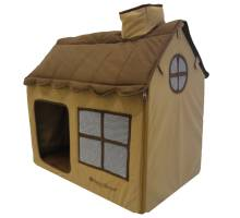 Happy-House Dog & Cat Villa Soft Bruin 62x42x59cm