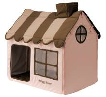 Happy-House Dog & Cat Villa Soft Lichtroze/Bruin 62x42x59cm