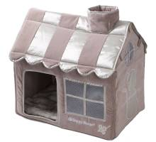 Happy-House Villa Cat Lifestyle Taupe S 52x36x49cm