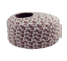Happy-House Mand ovaal o-collectie 40x30x20cm taupe