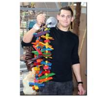 Papegaaienspeelgoed Tinker-N-Round