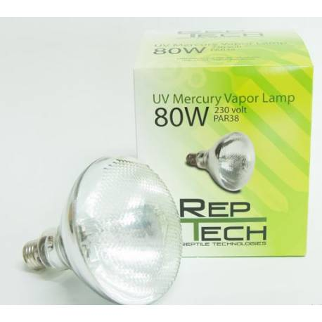 RepTech UV Mercury Vapor Lamp 80W