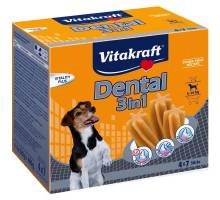 Vitakraft Dog Dental 3in1 Medium dog 4x7 sticks