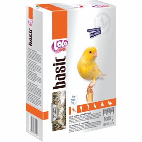 Lolo Pets Complete Food Canary 1000g