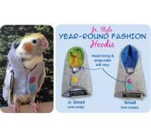 Papegaaien Hoodie Junior Small
