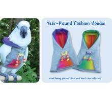 Papegaaien Hoodie Wide Year-Round