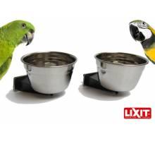 Lixit Quick Lock RVS Voerbak 591ml 2 STUKS AANBIEDING