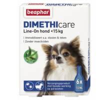 Beaphar Dimethicare Line-On hond tot 15kg 6 pip