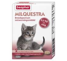 Beaphar Milquestra kat klein / kitten (0,5 - 4kg) 2st