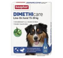Beaphar Dimethicare Line-On hond 15-30kg 6 pip