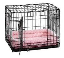 Quiet Time Deluxe Double Bolster Bed - Pink 46x30 cm