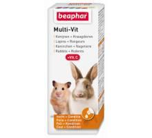 Beaphar Multi-Vit konijnen en knaagdieren 50ml