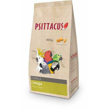 Psittacus Omega 800 gram