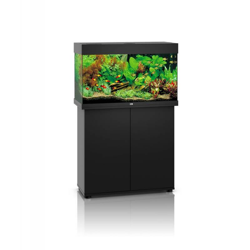 juwel aquarium rio 125 zwart led avonturiashop. Black Bedroom Furniture Sets. Home Design Ideas