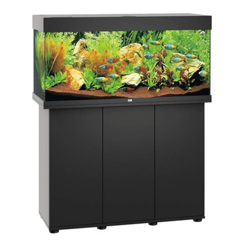 juwel aquarium rio 180 zwart led avonturiashop. Black Bedroom Furniture Sets. Home Design Ideas