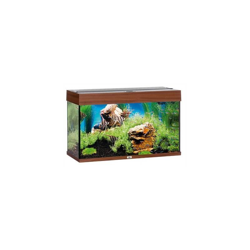 juwel aquarium rio 125 donkerbruin led avonturiashop. Black Bedroom Furniture Sets. Home Design Ideas