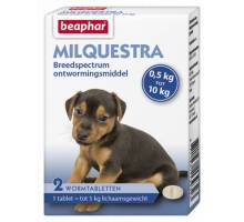 Beaphar Milquestra hond klein / pup (0,5 - 10kg) 2st