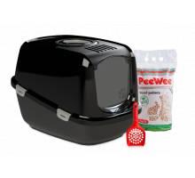 PeeWee Startpakket EcoDome - Zwart