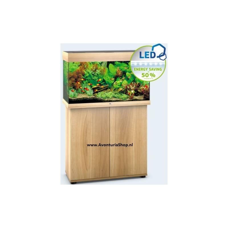 juwel aquarium rio 125 lichtbruin led avonturiashop. Black Bedroom Furniture Sets. Home Design Ideas