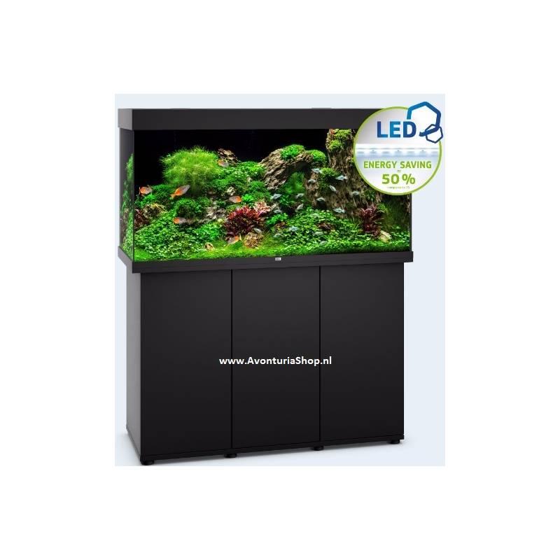 juwel aquarium rio 350 zwart led avonturiashop. Black Bedroom Furniture Sets. Home Design Ideas