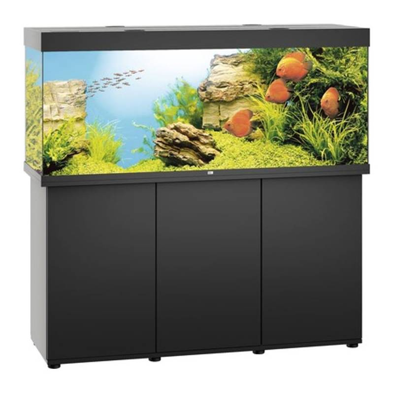 juwel aquarium rio 450 zwart led avonturiashop. Black Bedroom Furniture Sets. Home Design Ideas