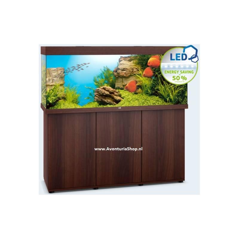 juwel aquarium rio 450 donkerbruin led avonturiashop. Black Bedroom Furniture Sets. Home Design Ideas