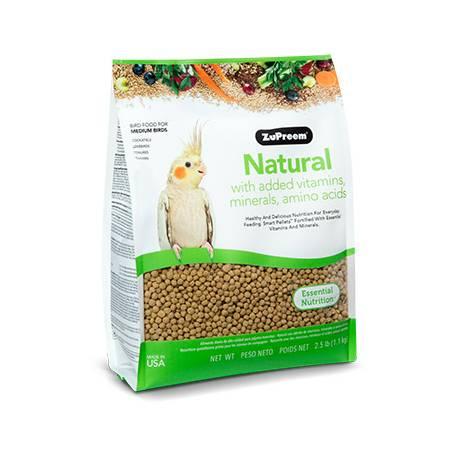 ZuPreem Natural Diet Medium Birds 1 kg