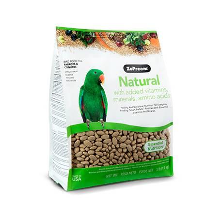 ZuPreem Natural Diet Medium/Large Parrots & Conures 1,4 kg